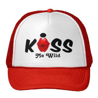 O chapéu beija-me selvagem boné