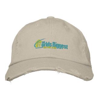 O chapéu bordado o mais grande II de tipo de tela Boné Bordado