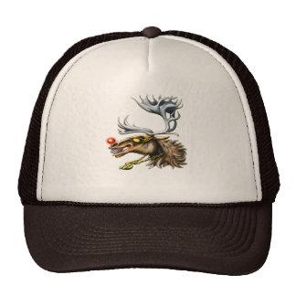 o chapéu com o nariz vermelho de Pimpdeer Boné