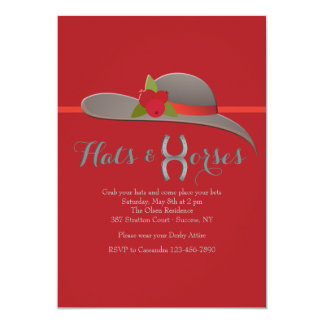 O Chapéu Convite da senhora bonita