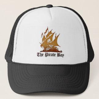 O chapéu da baía do pirata boné