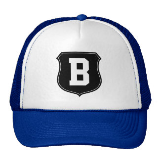 O chapéu | da letra B do monograma personalizou Boné