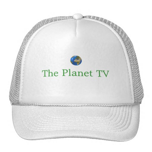 O chapéu da tevê do planeta bonés