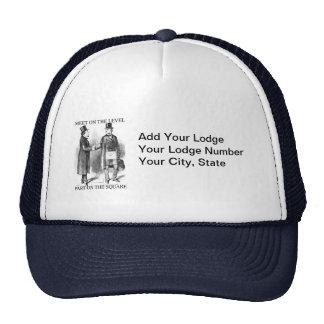 O chapéu do alojamento boné