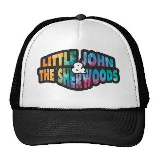 O chapéu do camionista com laço tingiu o logotipo  boné
