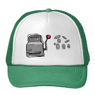 O chapéu do jogador - slot machine boné