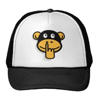 O chapéu do macaco do moedor bone
