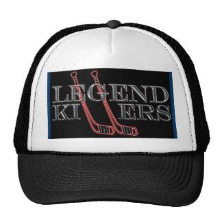 O chapéu dos assassinos da legenda boné