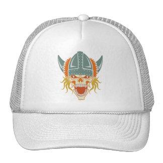 O chapéu feito sob encomenda do crânio de VIKING,  Boné