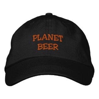 """O chapéu """"oficial"""" da cerveja do planeta boné bordado"""