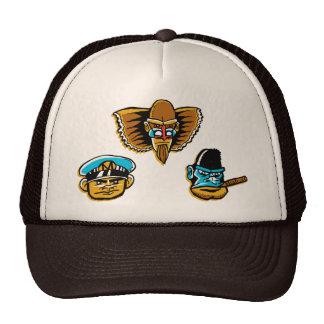 O chapéu poderoso do camionista dos Macaco-Homens Boné