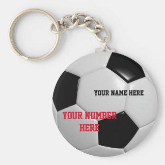 O chaveiro da bola de futebol personaliza seu Tag