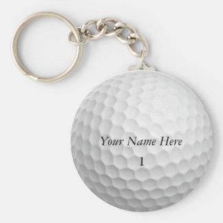 O chaveiro da bola de golfe personaliza-o com SEU
