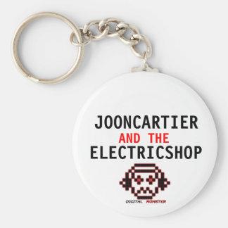 O chaveiro elétrico da loja