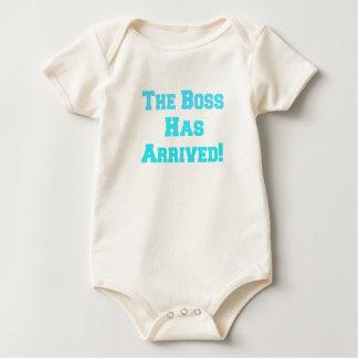 O chefe body para bebê