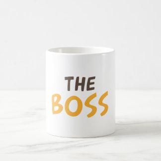 O chefe caneca