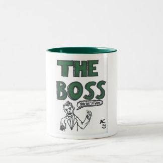 O chefe caneca dois tons