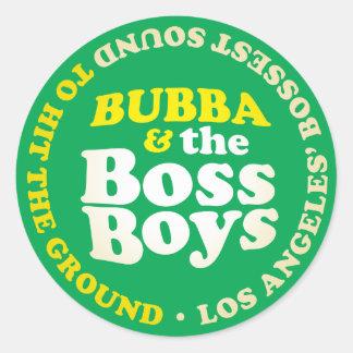 O chefe soa a meninos do chefe a etiqueta