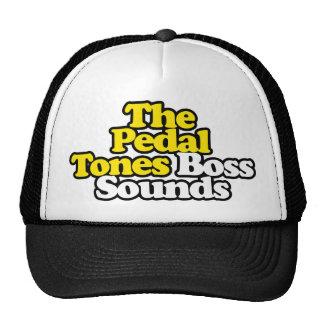O chefe soa o chapéu com esboço preto boné