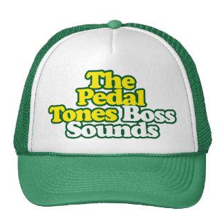 O chefe soa o chapéu - esboço verde boné