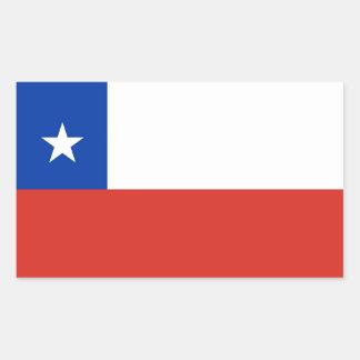 O CHILE ADESIVOS EM FORMA RETANGULAR