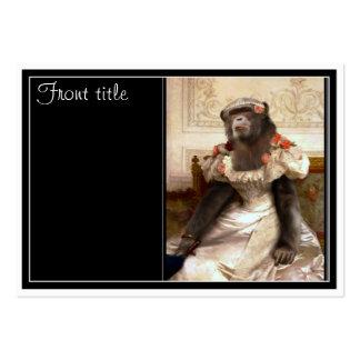 O chimpanzé de Bouguereau Cartões De Visitas