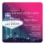 O chique, festa de solteira moderna de Las Vegas Convites Personalizado