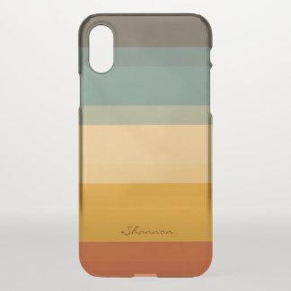 O chique moderno listra capas de iphone claras