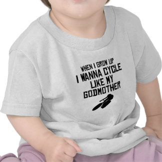 O ciclo gosta de minha madrinha tshirts