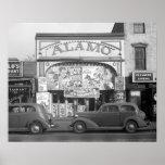 O cinema de Alamo, 1937 Posteres