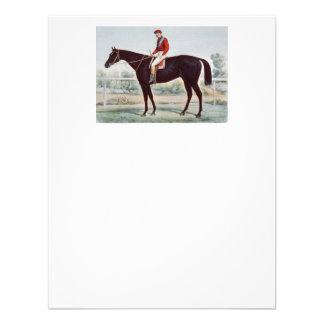 O círculo do vencedor SUPERIOR da corrida de caval Convites Personalizado