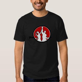 O Círculo-T dos homens Camisetas
