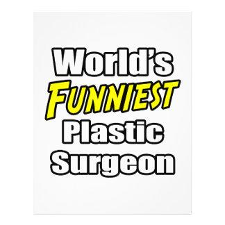 O cirurgião plástico o mais engraçado do mundo panfletos