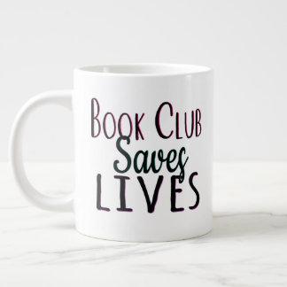O clube de leitura salvar a caneca do jumbo das