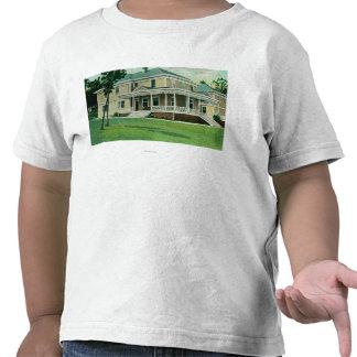 O clube do oficial no Presidio Camiseta