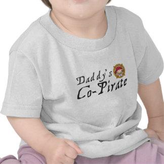 O Co-Pirata do pai Camisetas