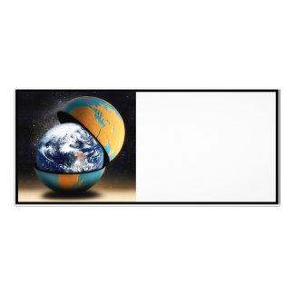 O cobrir protetor da terra 10.16 x 22.86cm panfleto