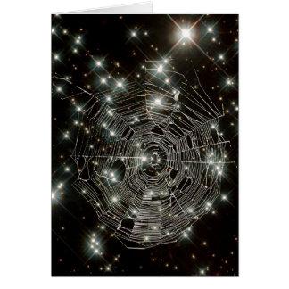 O Cobweb Stars o cartão