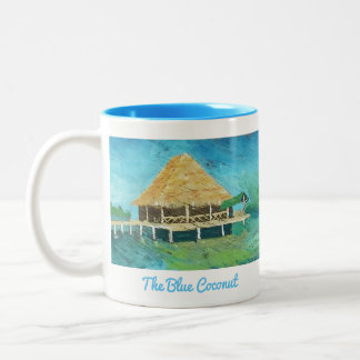 O coco azul - Bocas Del caneca de Toro, Panamá