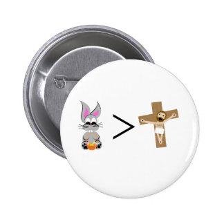 O coelhinho da Páscoa é maior do que Jesus Boton