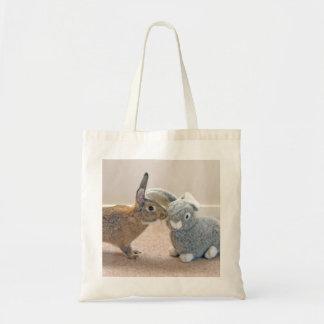 O coelho real bolsas de lona