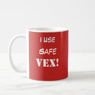 O cofre forte VEX! Caneca