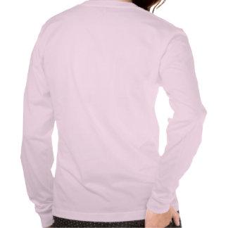 O colarinho azul aumentou tshirts
