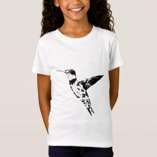 O colibri caçoa a camisa