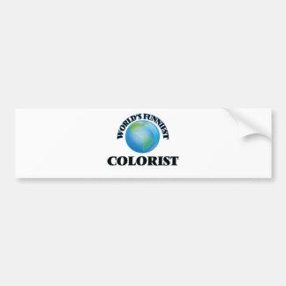 O Colorist o mais engraçado do mundo Adesivo Para Carro