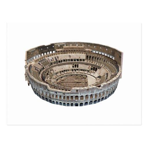 O Colosseum de Roma: modelo 3D: Cartões Postais