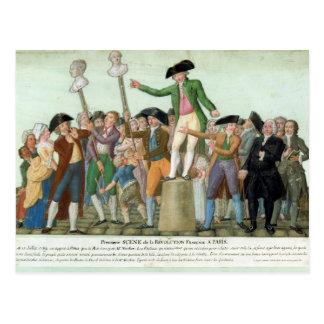 O começo da Revolução Francesa Cartão Postal