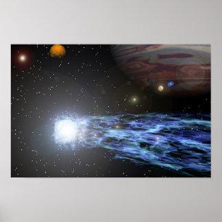 O cometa de Jupiter Pôster