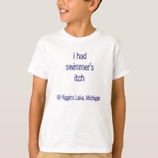 o comichão do nadador camiseta
