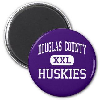 O Condado de Douglas - roucos - alto - rocha do ca Ímã Redondo 5.08cm